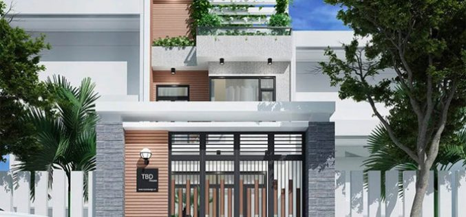 10 mẫu nhà ống 3 tầng mặt tiền 6m đẹp nhất 2019
