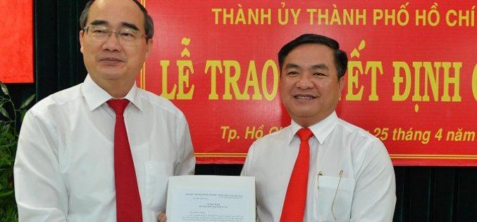 TP.HCM: Giám đốc Sở Xây dựng làm Bí thư Quận 3