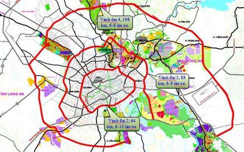 Đề xuất đầu tư 7.075 tỷ đồng xây tuyến Vành đai 4 TP.HCM đoạn Bến Lức – Hiệp Phước