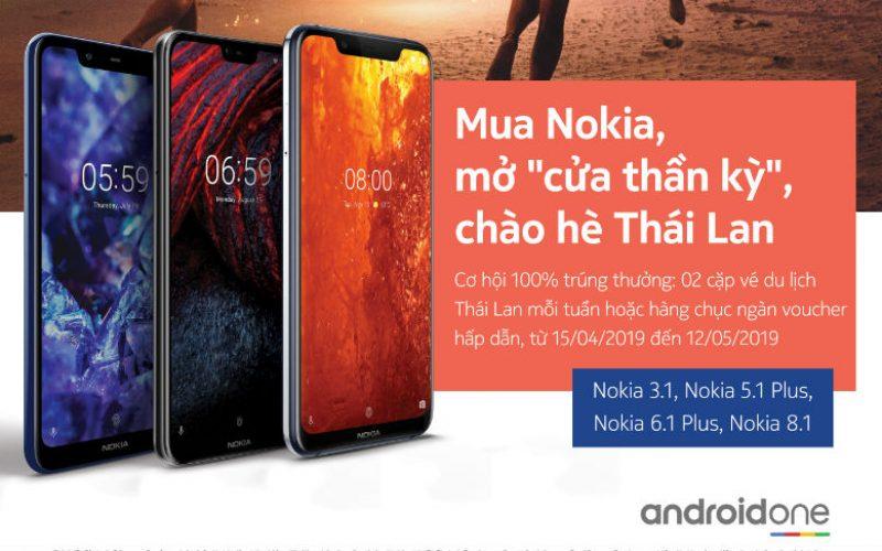 Mở cửa thần kỳ, chào hè Thái Lan cùng với Nokia
