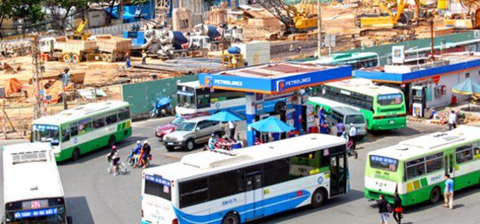 TP.HCM tăng giá vé xe buýt từ 1/5