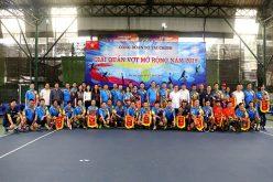 Công đoàn Bộ Tài chính tổ chức giải quần vợt mở rộng năm 2019