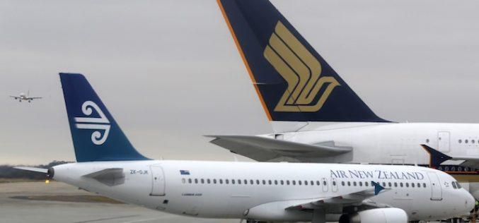 Bay đến New Zealand cùng hai hãng hàng không hàng đầu thế giới