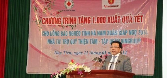 Ông Phạm Thiếu Hoa giữ chức Tổng giám đốc Vinhomes