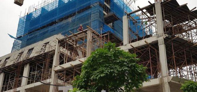 Vụ nhà dân nứt toác: Cao ốc 17 tầng xây sắp xong vẫn chưa nghiệm thu phần móng