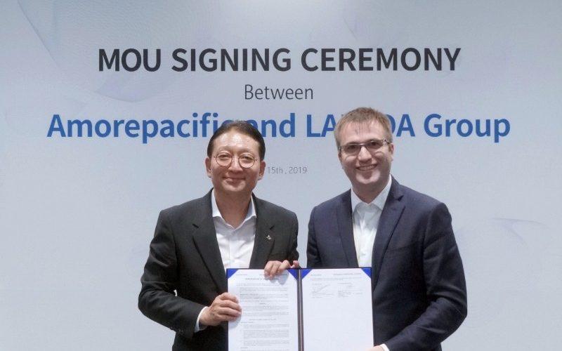 Amorepacific và Lazada ký kết hợp tác chiến lược toàn Đông Nam Á