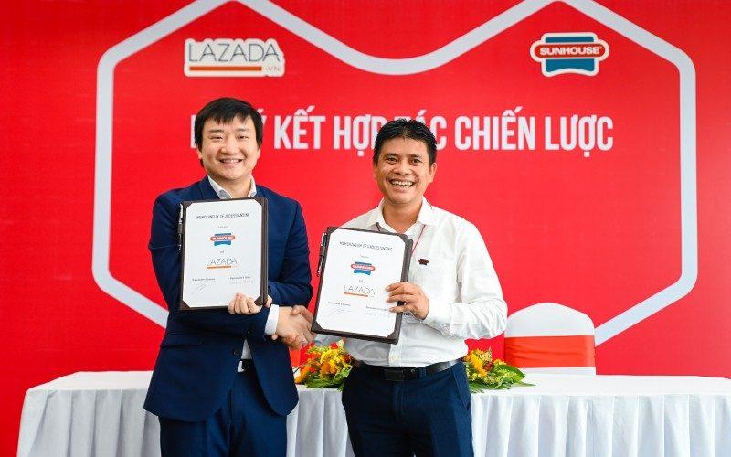 Lazada Việt Nam ký kết hợp tác chiến lược với Sunhouse