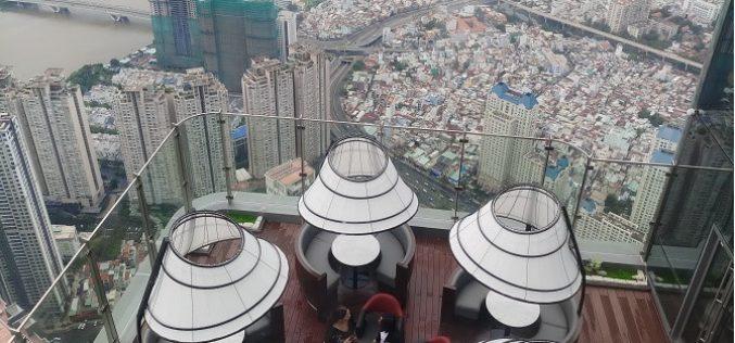 """[Ảnh] Ngắm toàn cảnh Sài Gòn và """"check in"""" từ độ cao gần 400m"""