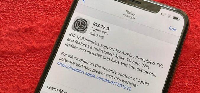 Apple tung phiên bản iOS 12.3, cải tiến thiết bị iOS