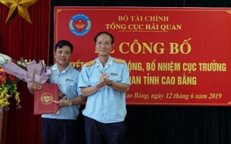 Tổng cục Hải quan điều động bổ nhiệm 2 cục trưởng và 1 cục phó