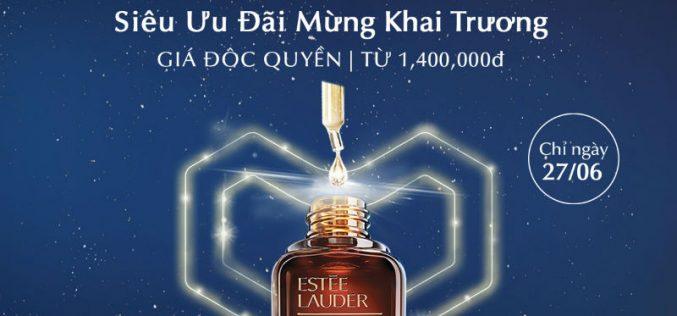 Lazada độc quyền phân phối trực tuyến thương hiệu Estée Lauder tại Việt Nam