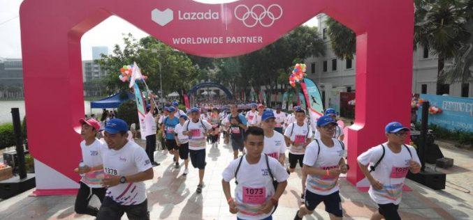 Lazada là đối tác chiến lược của Thế vận hội Olympic tại Đông Nam Á