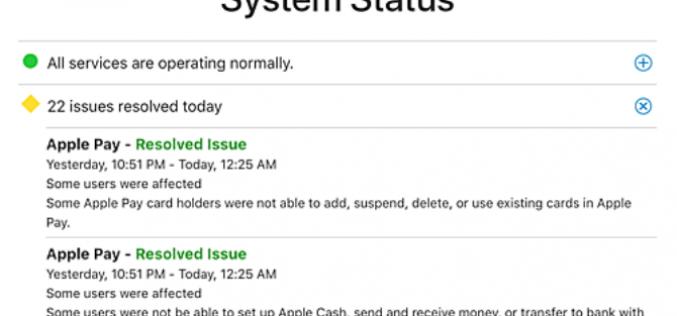iCloud và các dịch vụ của Apple ngừng hoạt động nhiều giờ