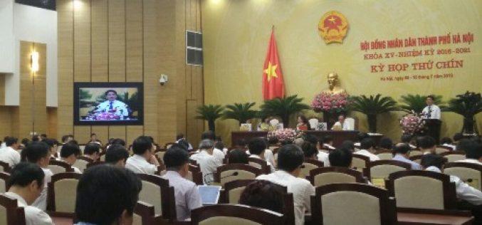 Chủ tịch TP.Hà Nội: Giải ngân chậm là có lỗi với người dân