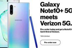 Nhà mạng Mỹ để lộ ảnh Galaxy Note10 phiên bản 5G