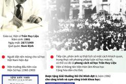 Giáo sư, Viện sĩ Trần Huy Liệu – Nhà sử học lớn của Việt Nam thế kỷ XX