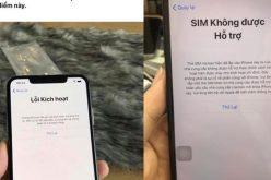 Bài cũ lặp lại, người dùng iPhone lock tại Việt Nam lại khốn khổ