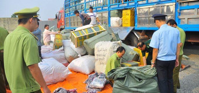 Hà Nội truy thu 2.400 tỷ đồng tiền thuế sau thanh tra buôn lậu, gian lận thương mại