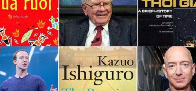 """Những cuốn sách """"gối đầu giường"""" 8 bộ óc thiên tài nhất thế giới luôn đọc hàng đêm"""