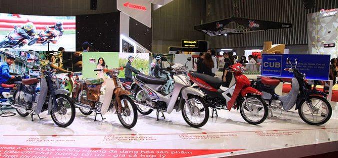 6 tháng đầu năm, Việt Nam tiêu thụ 1,5 triệu xe máy