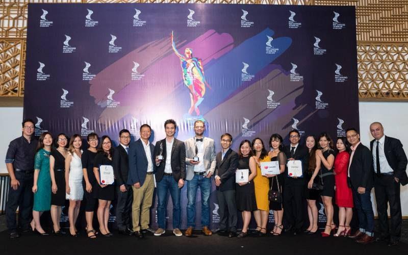 Lazada Việt Nam nhận giải thưởng Nơi làm việc tốt nhất châu Á 2019