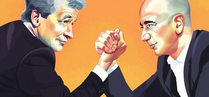 Đằng sau tình bạn kéo dài hàng thập kỷ giữa Jeff Bezos và Jame Dimon