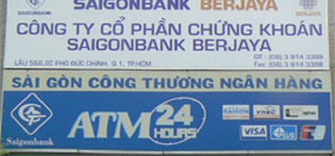 UBCK đình chỉ hoạt động tự doanh với Chứng khoán Saigonbank Berjaya