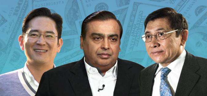 10 gia tộc giàu nhất châu Á