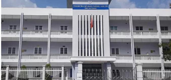 Phó chánh Thanh tra Sở Giao thông Vận tải An Giang bị cảnh cáo