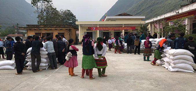Đã xuất hơn 100.998 tấn gạo dự trữ cứu trợ, hỗ trợ người dân