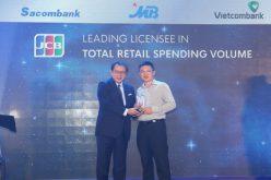 MB vinh dự nhận 4 giải thưởng danh giá từ tổ chức thẻ quốc tế Nhật Bản JCB