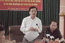 Gian lận thi cử: Công an đề nghị xem xét kỷ luật, Hà Giang vẫn im lặng