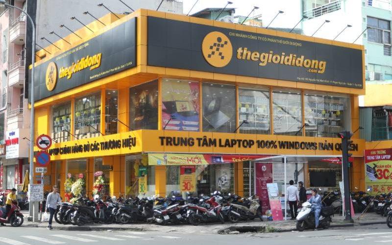 Thế Giới Di Động tăng gấp đôi doanh thu bán laptop nhờ mở rộng cửa hàng