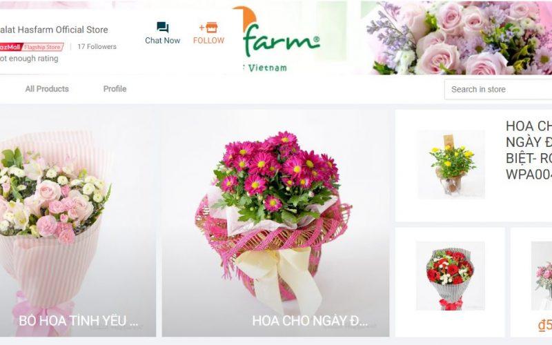 Lazada triển khai dịch vụ giao hoa tươi trong vòng 4 giờ