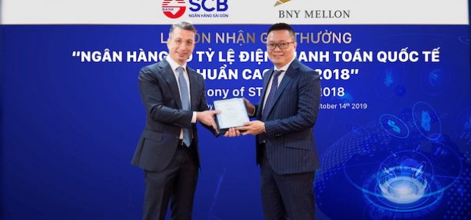 SCB đạt chất lượng thanh toán quốc tế xuất sắc