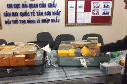 Bắt giữ hơn 1.400 điếu Cigar COHIBA vận chuyển trái phép