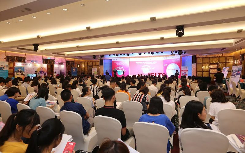 Ngày Hội IELTS 2019 do Hội đồng Anh tổ chức thu hút hơn 1.600 lượt khách tham dự