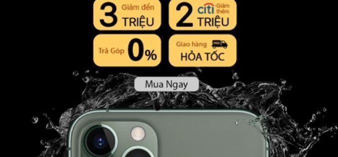 Ngày 1.11, mua iPhone 11 Pro Max chính hãng giảm giá đến 5 triệu đồng trên Lazada