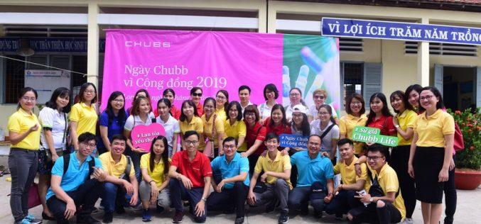 """Tập đoàn Chubb tổ chức """"Ngày Chubb vì Cộng đồng 2019"""" tại Việt Nam"""