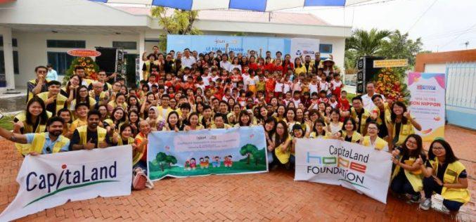 CapitaLand đóng góp hơn 6 tỷ đồng để xây dựng trường mẫu giáo