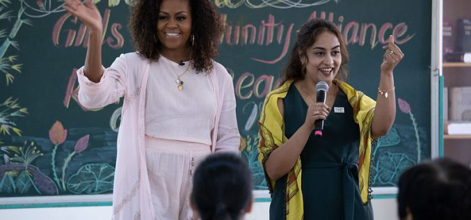 Bà Michelle Obama đến Việt Nam nhằm hỗ trợ giáo dục cho trẻ em gái