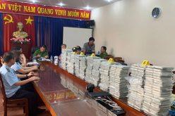 Khen thưởng chiến công triệt phá đường dây buôn lậu 446 bánh heroin