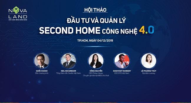 Hội thảo đầu tư và quản lý second home bằng công nghệ 4.0