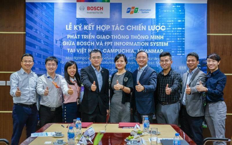 Tập đoàn Bosch hợp tác cùng FPT IS phát triển và cung cấp giải pháp giao thông thông minh