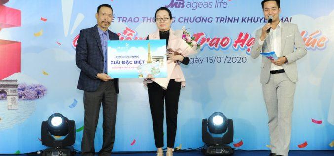 Ai là chủ nhân của giải thưởng trị giá 510.000.000 VNĐ của MB Ageas Life?
