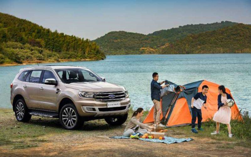 Ford Everest – phương tiện tối ưu cho những buổi cắm trại