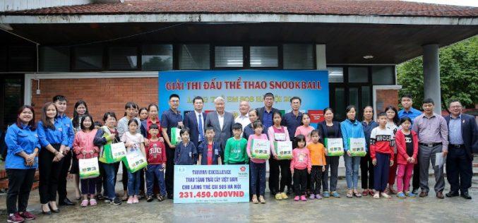 Taiwan Excellence trao tặng quà cứu trợ cho Làng trẻ em SOS Hà Nội