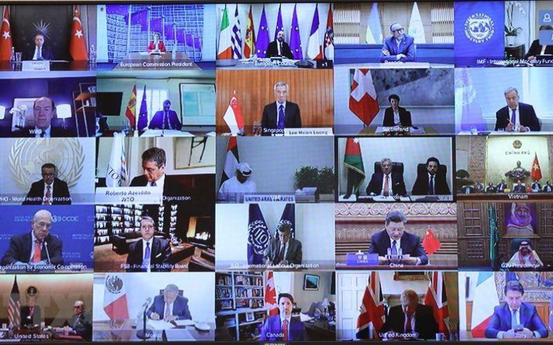 G20: Cam kết sử dụng các công cụ chính sách tiền tệ, tài khoá giảm thiểu tác động dịch COVID-19