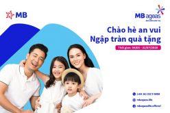 """MB Ageas Life triển khai Chương trình khuyến mại """"Chào hè an vui, ngập tràn quà tặng"""""""
