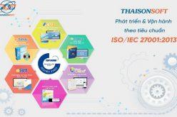 ThaisonSoft nhận chứng chỉ ISO/IEC 27001:2013 về an toàn bảo mật thông tin